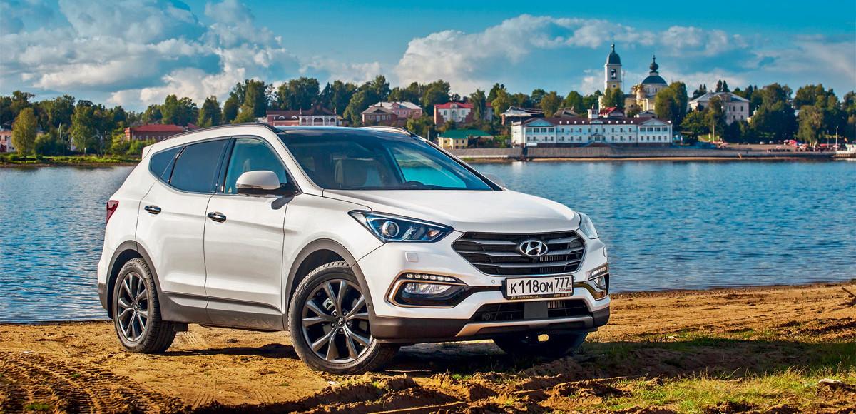 Hyundai Santa Fe Premium. Дорогой «Санта»