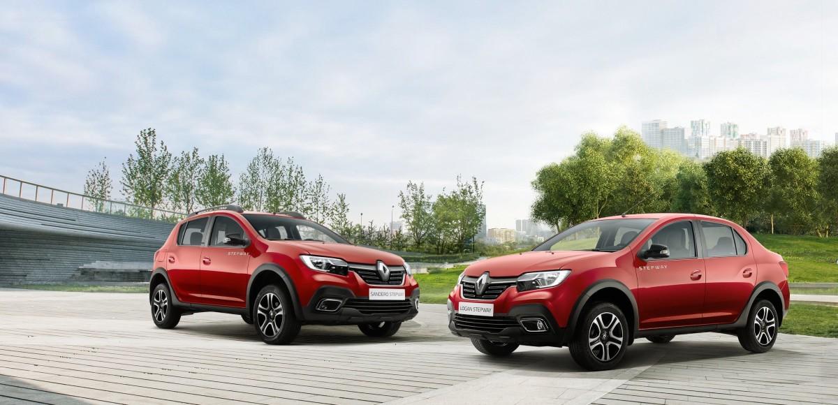 «Внедорожные» Renault Logan и Dokker представят на ММАС 2018