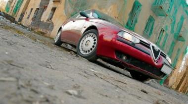 Alfa Romeo 156 2.0 TS. Колоратурное сопрано
