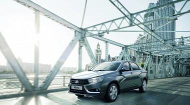 Lada Vesta получит новые опции