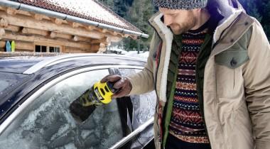 Автовладельцам на заметку: аккумуляторный скребок для льда