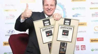 Ford Ranger и Ford Transit Connect признаны автомобилями года в России