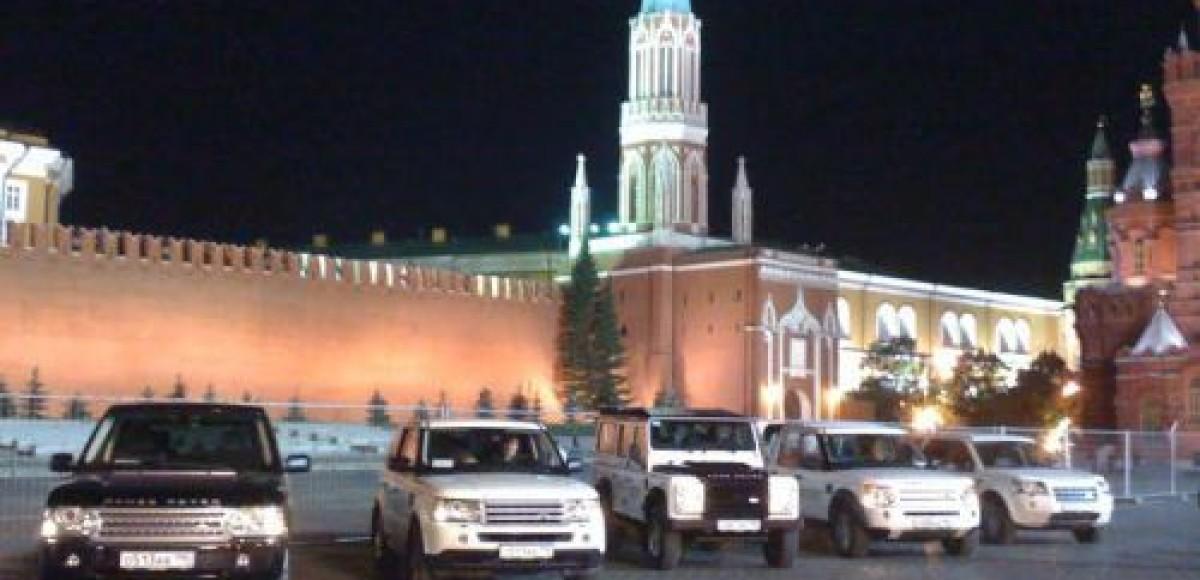 Land Rover выступает официальным партнером Международного военно-музыкального фестиваля «Спасская Башня»