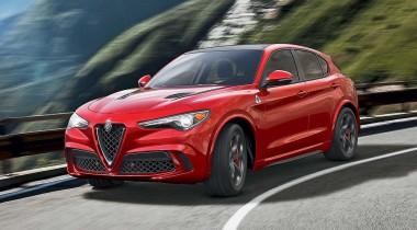 Alfa Romeo Stelvio. Подорожник