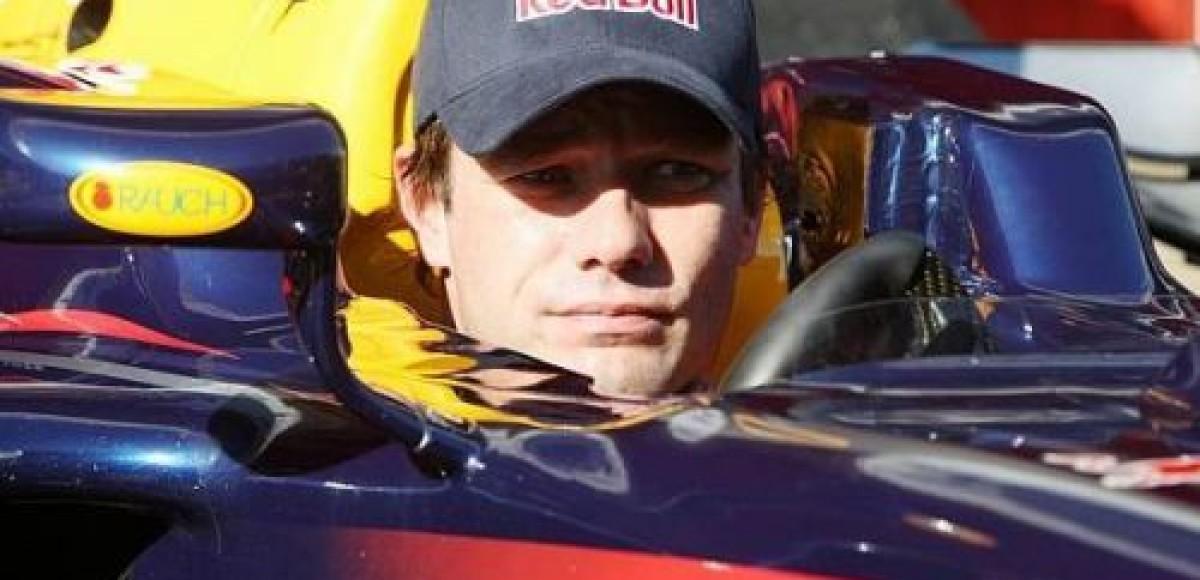 Себастьян Лоэб: «Пока только WRC, быть пилотом Формулы-1 пока для меня невозможно».