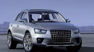 Audi Q3 выбросят на рынок в 2011 году