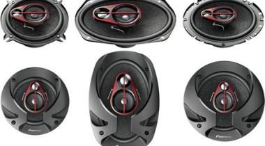 Компания Pioneer представляет новое семейство автомобильной акустики