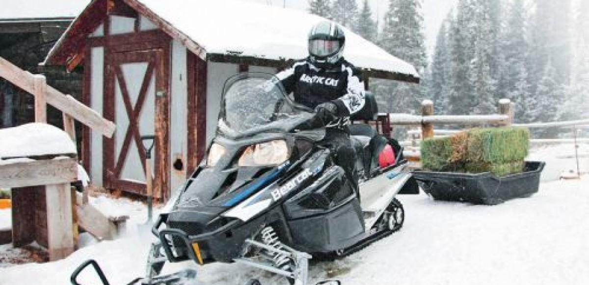 Arctic Bearcat Z1. Рабочий комфорт