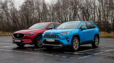 На что жалуются и чем довольны владельцы японских кроссоверов: отзывы о Toyota RAV4, Nissan Qashqai, Mazda CX-5 и Mitsubishi Outlander