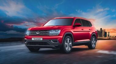 Volkswagen Teramont получил в России налогово-льготный мотор V6