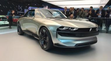 Peugeot e-Legend Concept — экранохронолет на реалистичных колесах