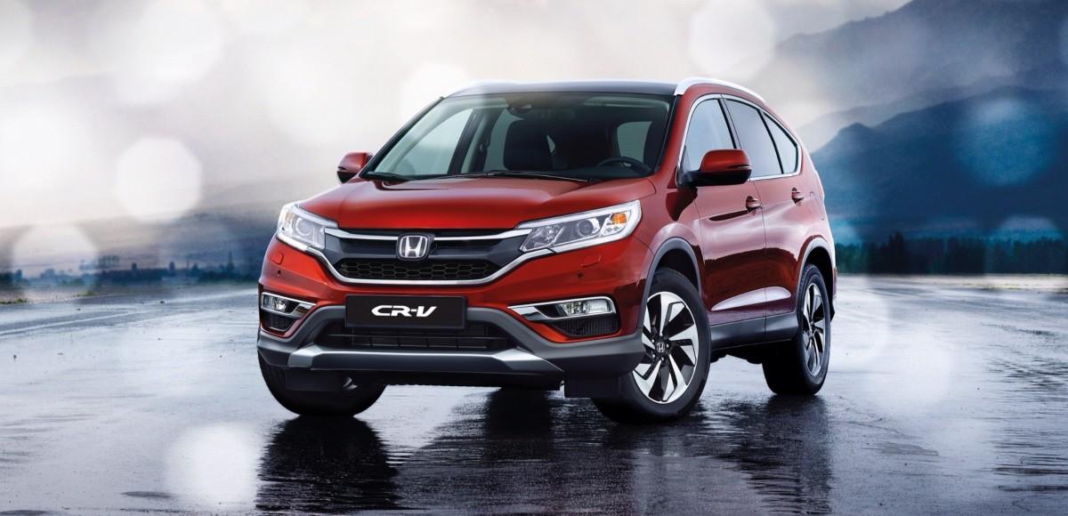 Honda CR-V 2016: легкий рестайлинг и новые цены