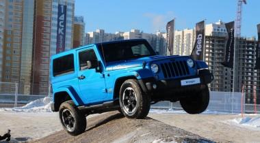На территории Jeep в Крокус-Сити представили Wrangler Polar