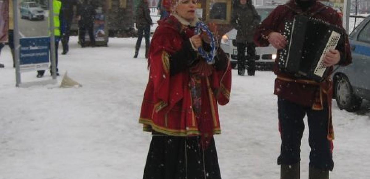 Масленица в Шуваловке вместе со Skoda