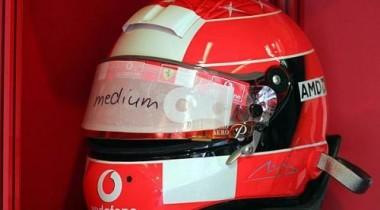 Новое забрало для шлема пилотов Формулы-1