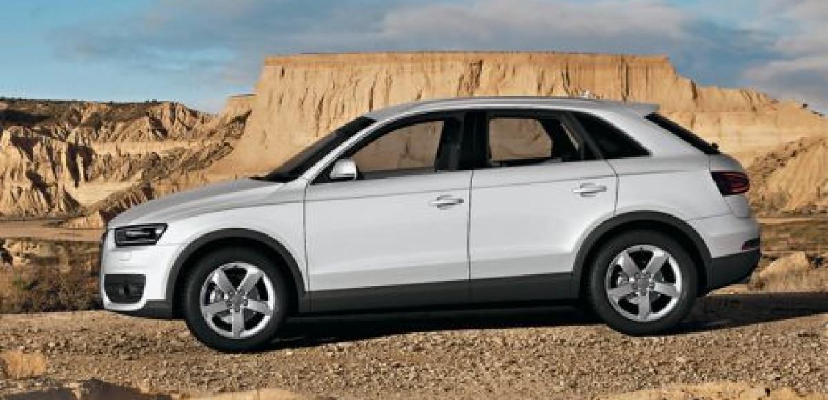 Audi Q3. Третий, но первый