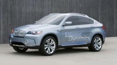 BMW представляет X6 с гибридным силовым агрегатом