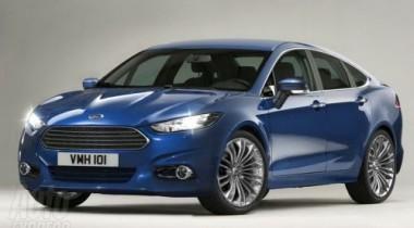 Обновленный Ford Mondeo будет официально представлен в марте 2012 года
