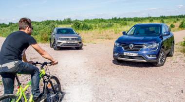 Renault Koleos против Volkswagen Tiguan. Дела семейные