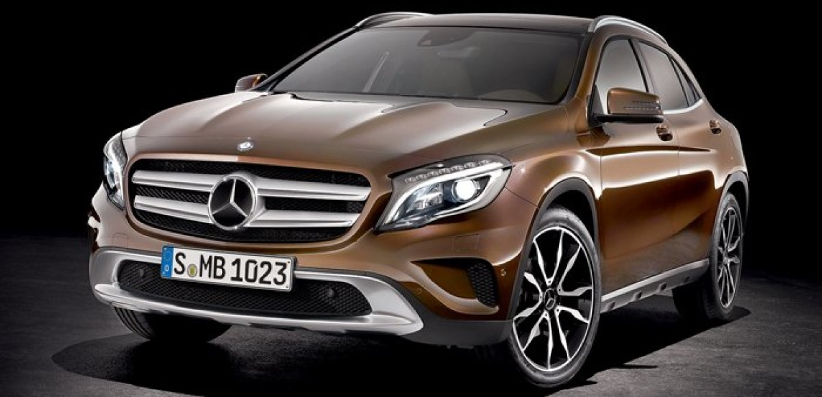 Mercedes-Benz GLA-class. Драйвер роста