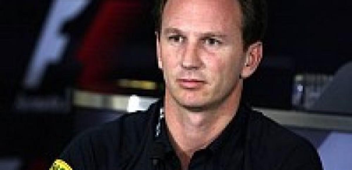 Кристиан Хорнер уверен в 2010 году в McLaren и Ferrari