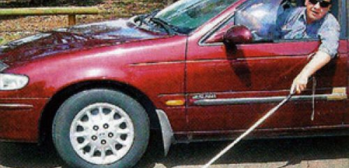 В Эстонии слепой водитель трижды садился за руль в пьяном виде