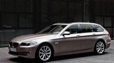 BMW объявила цены на новый универсал BMW 5-Series Touring