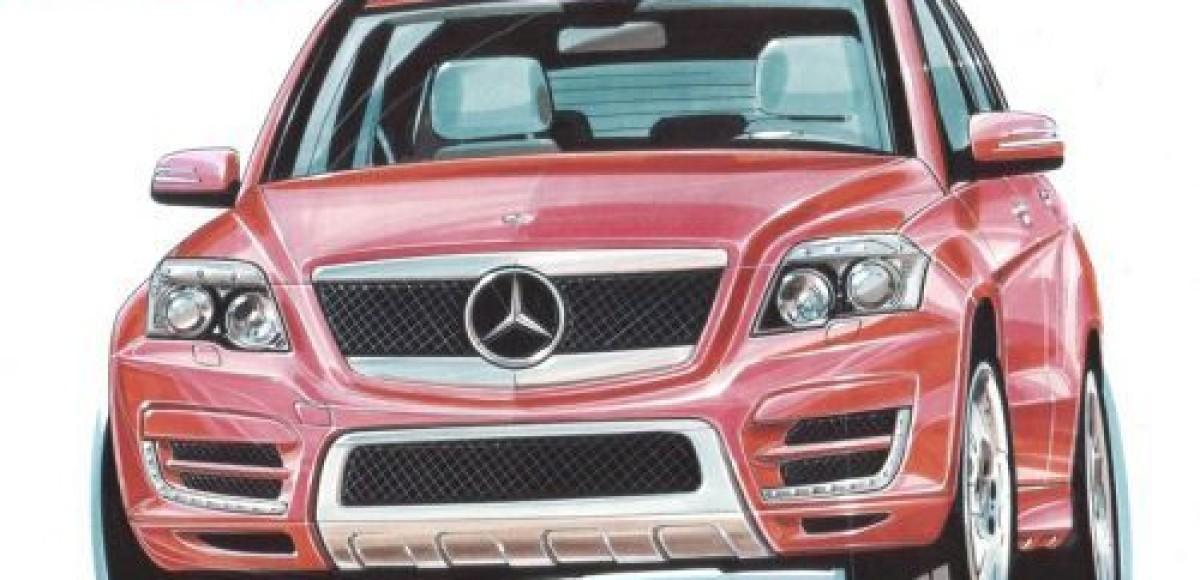В ателье Lorinser займутся тюнингом Mercedes-Benz GLK