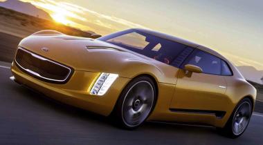 Выложены в интернет фотографии концепта Kia GT4 Stinger