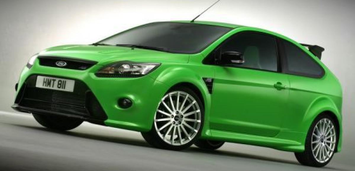 Ford Focus RS покажут в Лондоне