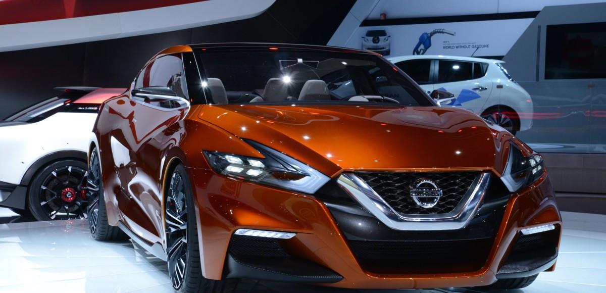 Концепт спортивного седана продемонстрировал  будущее моделей Nissan