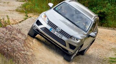 Volkswagen Touareg. Игра на контрасте
