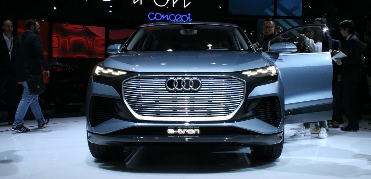Audi Q4 e-tron Concept: концепт с реальными перспективами
