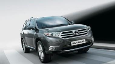 Toyota Highlander. Дитя равнин