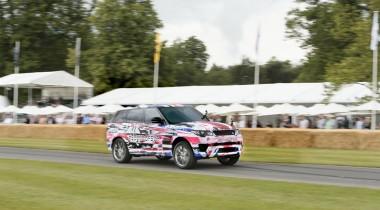 Компания Jaguar Land Rover представила самую динамичную версию Range Rover Sport SVR