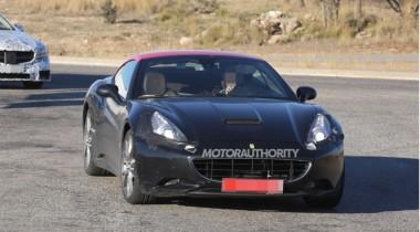 Преемник Ferrari California  замечен на испытаниях