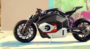 BMW Motorrad представляет концепт электробайка Vision DC Roadster