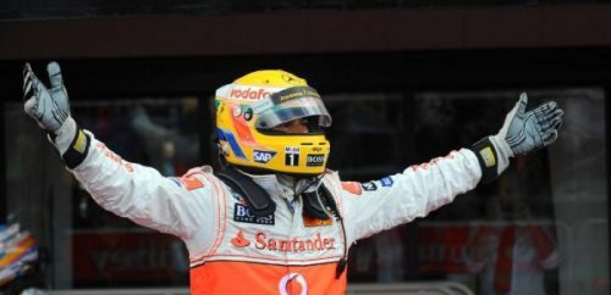 Гонку на Гран-При Бельгии выигрывает Льюис Хэмилтон