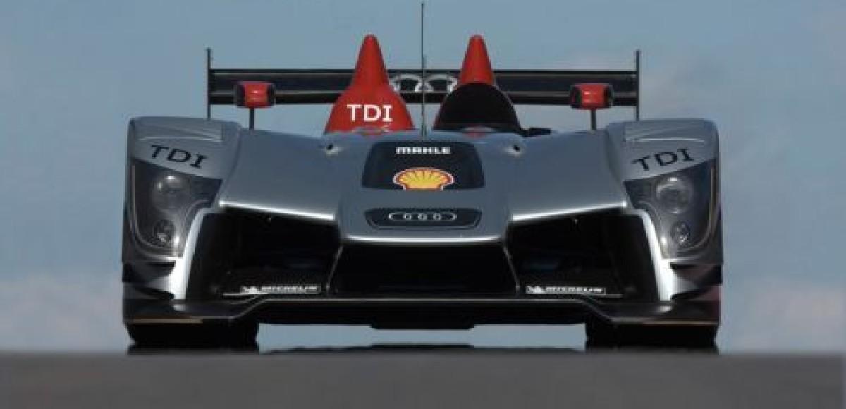 R15 TDI – второе поколение дизельных гоночных автомобилей Audi