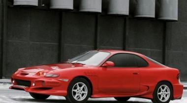 Toyota Celica T18. Красная и опасная