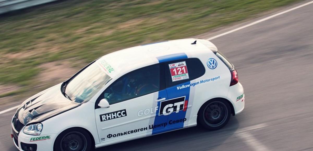 Открытие чемпионата  Russian Hot Hatch Club Championship 2014