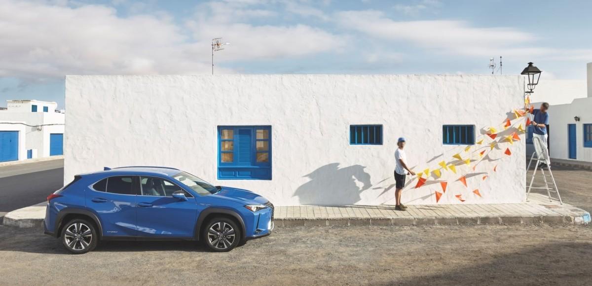 Lexus UX и Agoraphobic Traveller открывают новый формат фотографий