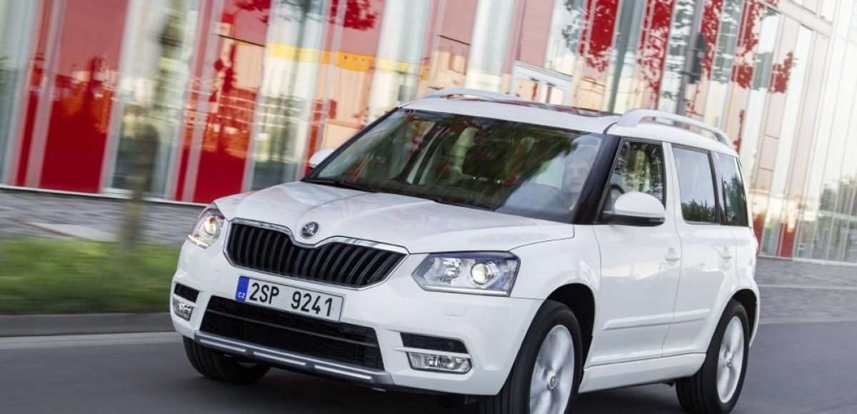Названы цены на обновленный кроссовер  Škoda Yeti