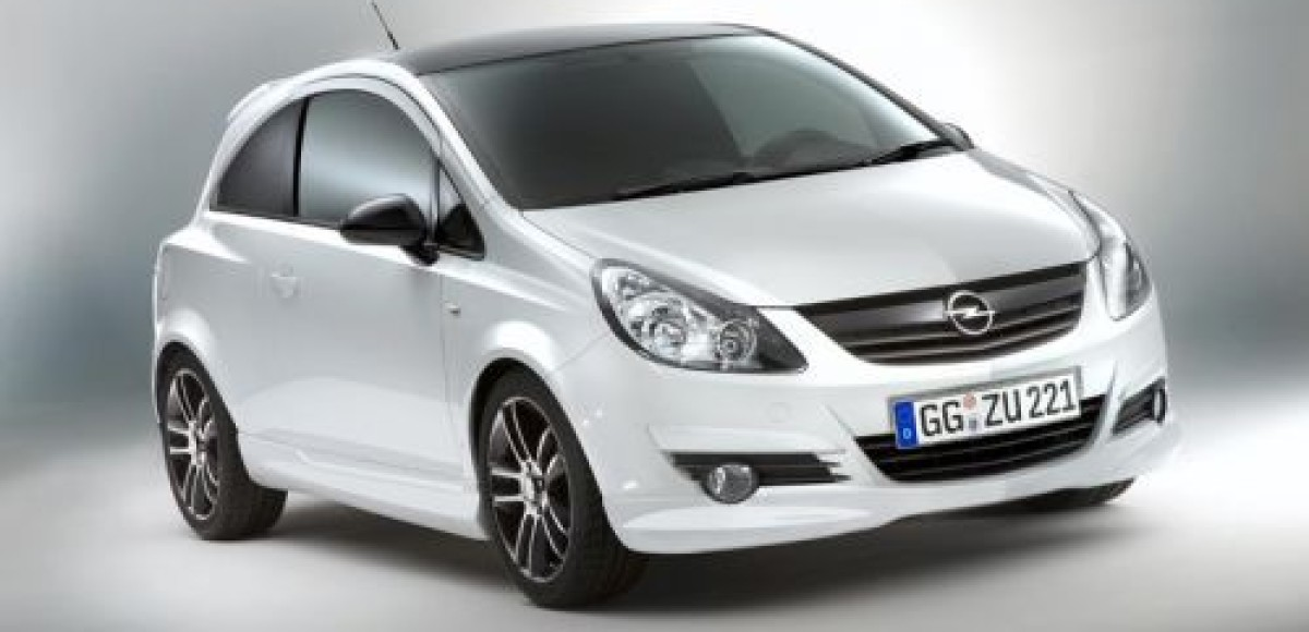 Opel представил юбилейную Corsa