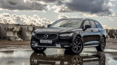 Volvo V90 Cross Country. Знаки препинания