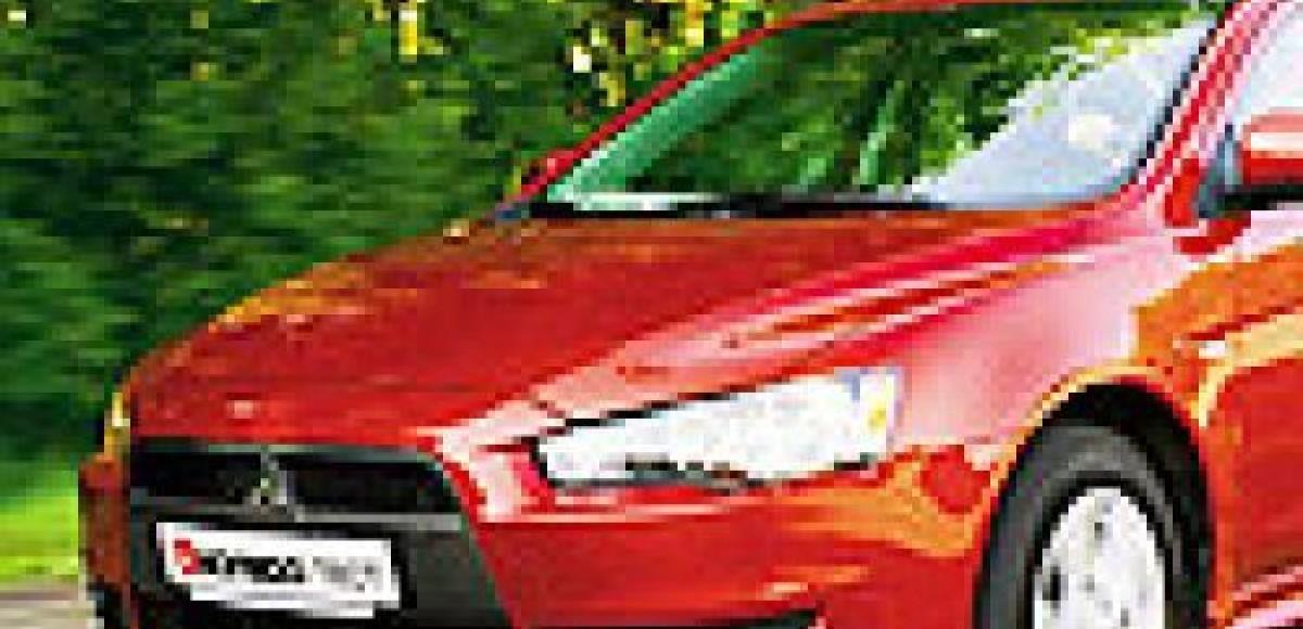 Плюсовый мишка Mitsubishi Lancer 2.0 CVT