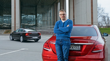 Mercedes-AMG E43 против Volvo S90. Хороший, плохой, злой?