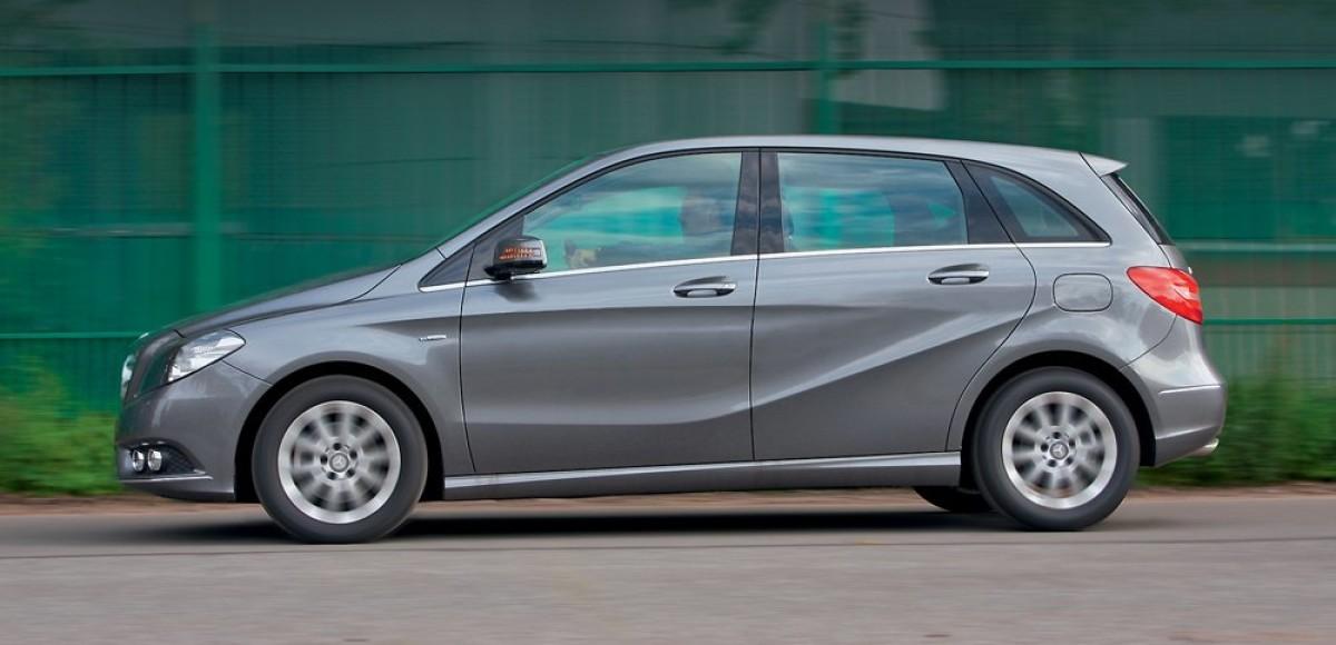 Mercedes-Benz B200. В списках не значится