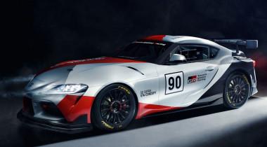 Toyota GR Supra GT4 Concept: каркас безопасности, гоночные «ковши» и «турбошестерка»