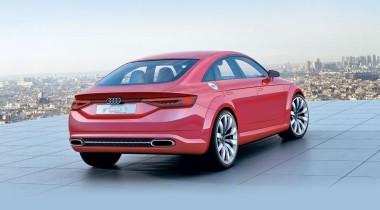 Audi TT Sportback Concept. Плюс два